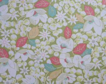 Reserved Listing - Moda - Strawberry Fields Revisited - Grass 2026512 Moda 1 1/3 Yards