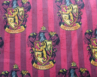 Multi Harry Potter Gryffindor Digitally Printed # 2380111J-1 - Camelot Fabrics