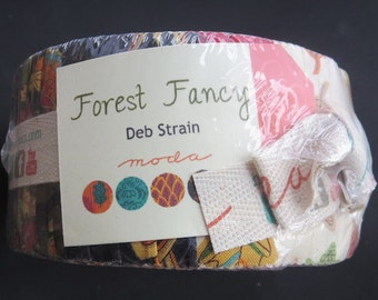One Week Sale - Moda - Deb Strain Forest Fancy - Jelly Roll
