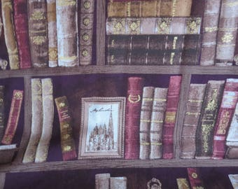 Bookcase Fabric - Mrs. March's Collection Fall 2017 Collection - From Lecien Japan, Inc - 31726