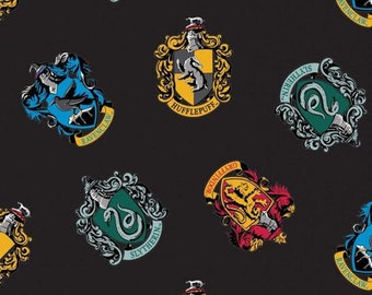 Harry Potter House Crest FLEECE - Camelot- Wizarding World- Harry Potter- J.K. Rowling's Collection - 23800117A-2 - 58""