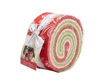 Fig Tree Fabric - Christmas Figs 11 Jelly Roll