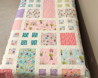 Homemade Twin Quilt - Dream A Wish Quilt