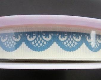 One week sale - Serenata Designer Ribbon by Riley Blake - 25 Yards Grosgrain