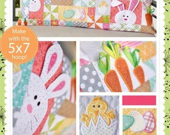 Kimberbll Hoppy Easter Bench Pillow - KD571