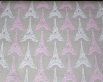 Riley Blake - Pepe In Paris Fabric - Tower Gray