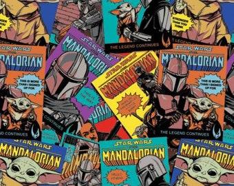 Multi Star Wars Mandalorian Comic Posters - 73800256-1