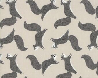 Bramble Stone 48283 14 Moda- Gingiber Novelty Squirrels