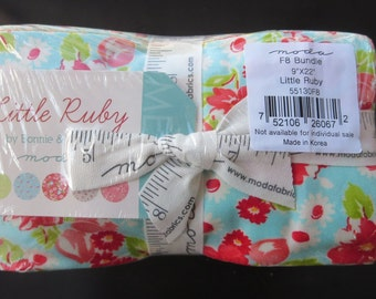 Two Remaining - Bonnie And Camille - Little Ruby  Fat Eighths Bundle - Ships Priority Mail