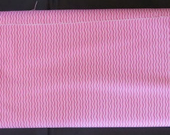 Hipster Hot Pink Crimp Fabric