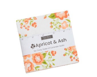 Apricot Ash Charm Pack  by Corey Yoder For Moda