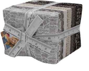 Moda Metropolis Fat Quarter Bundle 33 Cuts - BasicGrey - One Remaining!
