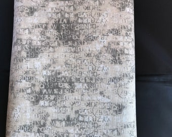 8.95 A Yard One Week Sale - Metropolis Cipher Marble 30566 15 Moda