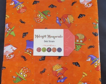 Midnight Masquerade Layer Cake - Halloween Sale Fabric