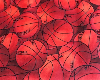David Textiles - Packed Sports Basketballs - 1133106 - Orange/Brown/Black