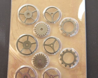 Tim Holtz Idea-ology - Sprocket Gears - Steampunk - TH92691