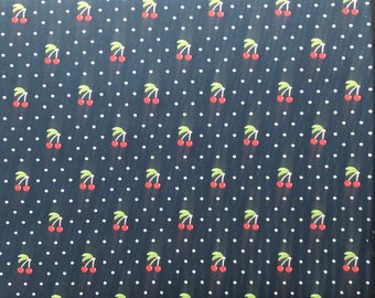 End of Bolt 25 Inches Orchard  24074 17 Moda -  April Rosenthal Orchard Cherry Pie Blueberry