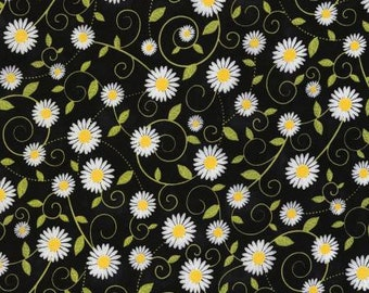Timeless Treasures - Daisy Vine You are my Sunshine Collection  Fabric C5498