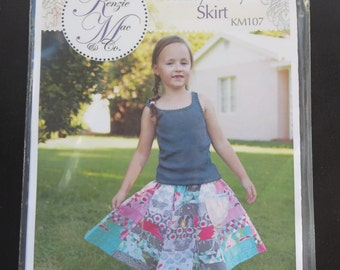 Riley Blake - Twirly Girly Skirt Pattern - By Kenzie Mac - KM107
