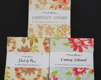 Fig Tree Charm Pack Set - Hazel And Plum Coney Island Chestnut Street