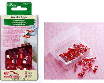 Wonder Clips Red 50ct - 3156