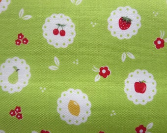 Riley Blake Sweet Orchard Fabric Scallop Green C5482 - 7.99 A Yard