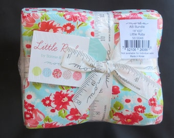Bonnie And Camille - Little Ruby Fat Quarter Bundle - Ships Priority Mail! - Final One Remaining!