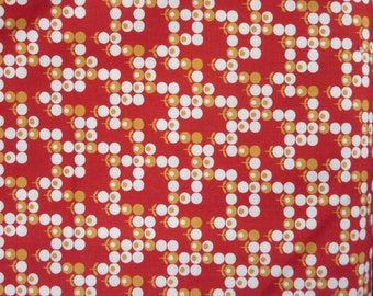 Weekend Special 7.50 A Yard - Boho Gypsy Garden Scarlet Fabric 31093 11 - Moda - Sale Fabric