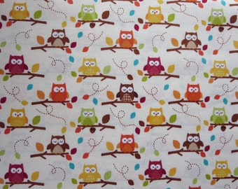 Riley Blake - Happy Harvest Friends Fabric - Cream