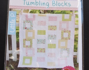 Its Sew Emma Quilt Pattern - Tumbling Blocks