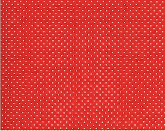 On The Farm  - 2070816 Moda - Spots Dots Red By Stacy Iest Hsu
