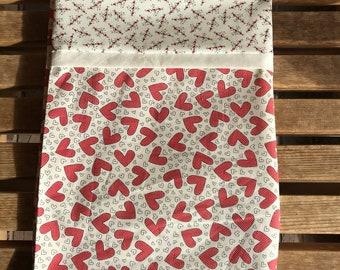 Novelty Valentine Pillowcase /Heart Pillowcase - Heart 1