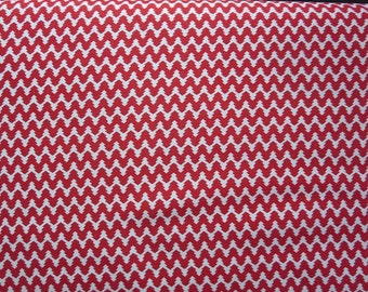 Moda 25th and Pine by Basicgrey 3036912  - Peppermint  Red Cotton Fabric