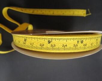 Tape Measure Twill Yellow - 25 yard Spool - More In Stock!