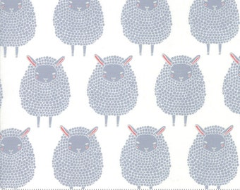 Farm Charm - by Gingiber for Moda - 48291 21 - 4829121 - Steel Sheep - In Stock Now!