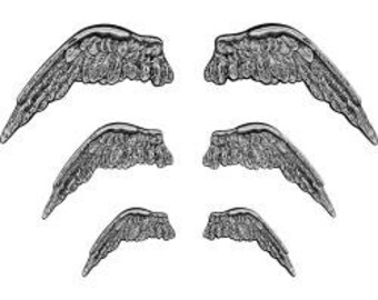 STEAMPUNK Metal Wings - Th93773 - On Sale