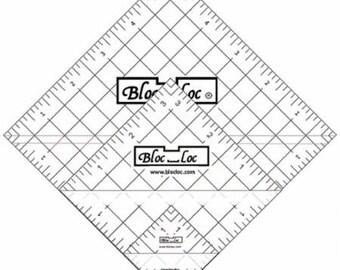 "Bloc Loc Set 3 -  1.5""  3.5"" and 5.5"" Ruler"