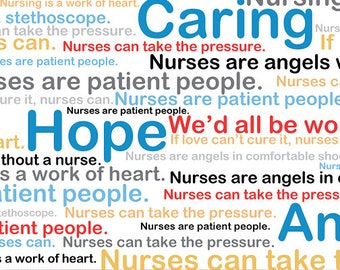 Calling All Nurses -  Windham Fabrics 37301-X