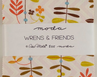 Wrens Friends Charm Pack.