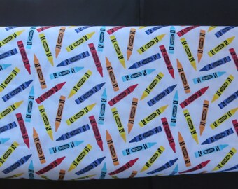 Riley Blake Crayola - C5403 - Crayola Color Me Crayon White