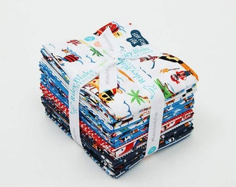 Fat Quarter Bundle - Riley Blake Pirate's Life - FQ-7350-21