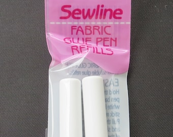 BLUE Sewline Fabric Glue Pen Refill - Pen Sold Separately ( Link Below) - FAB50013 - Glue Stick