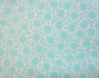 The Good Life Fabric -Bonnie and Camille Floral Carefree Aqua 55156 12