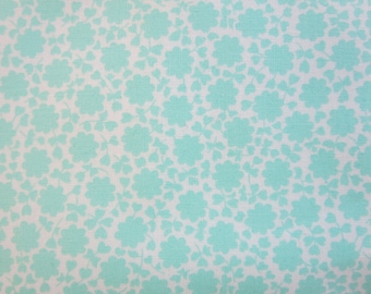 8.99 A Yard - The Good Life Fabric -Bonnie and Camille Floral Carefree Aqua 55156 12 - New In Stock 3 Day Special