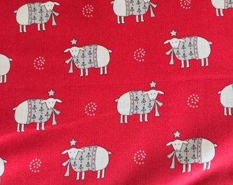 Moda - Country Christmas  by Bunny Hill Designs - 2962 12 / 296212 Sheep