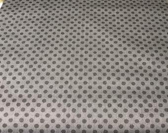 Wilmington Prints - Black Dots By Pertiet, Katie Free Range Fresh by Katie Pertiet Collection 16515-999 - Not a Vibrant Black