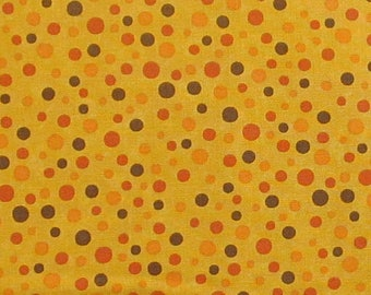 Perfectly Seasoned - Maize 17826 19 Moda - Sandy Gervais Seasonal Fall Dot Gold