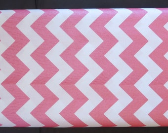 Riley Blake -  Sparkle Chevron Red ( Looks More Like Dusky Pink) - SC820-80