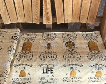 8.75 A Yard - Bee Creative Fabric by Deb Strain For Moda - 197570 11 - One Week Sale
