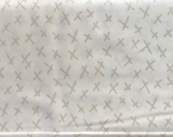 Moda - Gingiber Savannah  X Marks Stone On Cream - 48224 11  8.99 A Yard